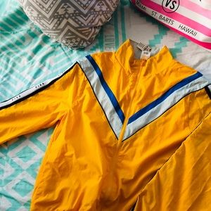 Victoria's Secret pink windbreaker jacket